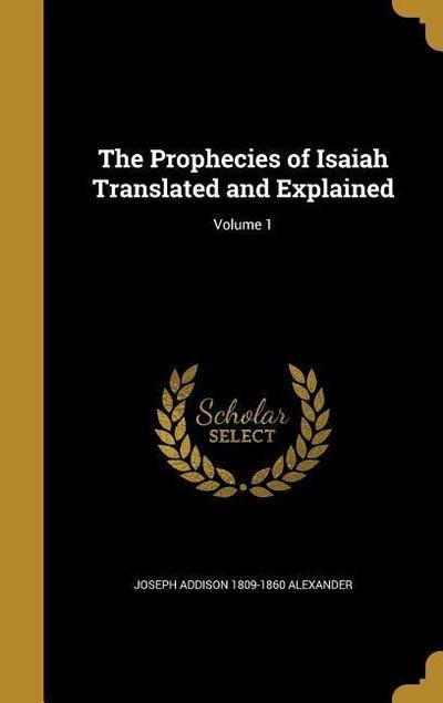 PROPHECIES OF ISAIAH TRANSLATE