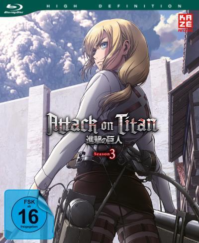Attack on Titan - 3. Staffel - Blu-ray 2