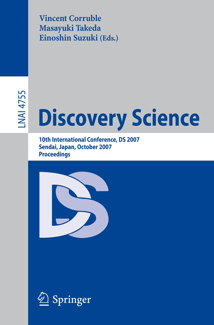 Discovery Science Vincent Corruble