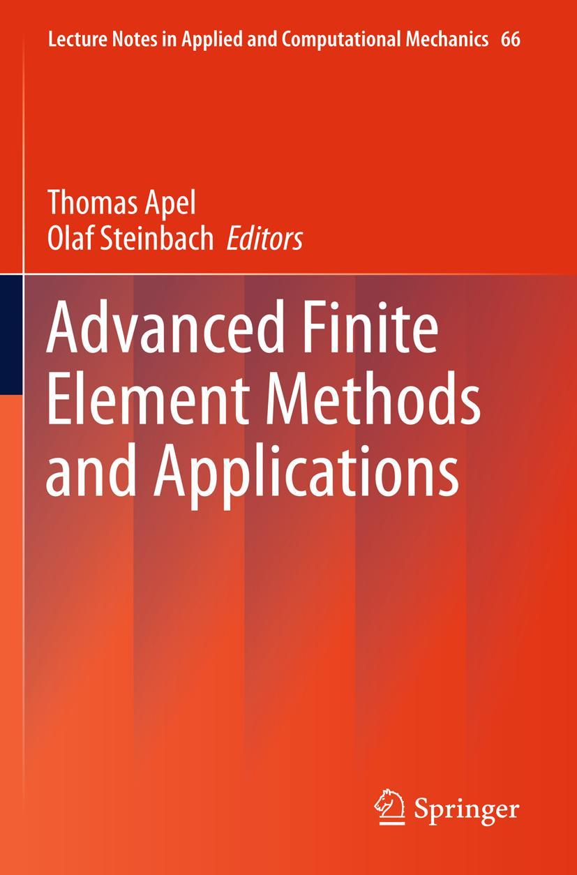 Advanced Finite Element Methods and Applications   Thomas Ap ... 9783642303159