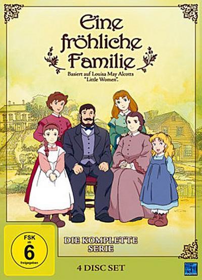 Eine fröhliche Familie - Die komplette Serie, 4 DVDs
