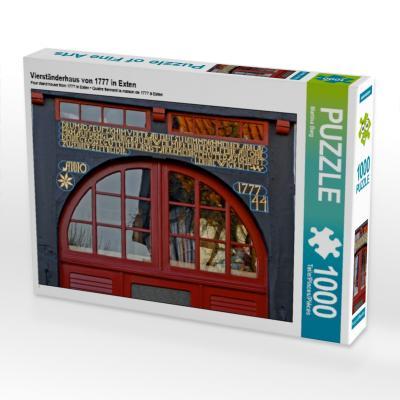 Vierständerhaus von 1777 in Exten (Puzzle)