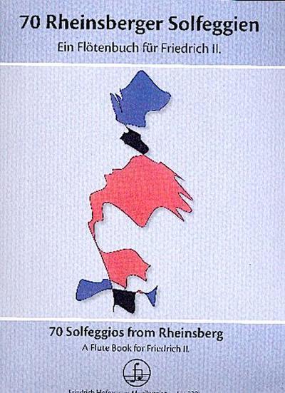 70 Rheinsberger Solfeggien, ein Flötenbuch