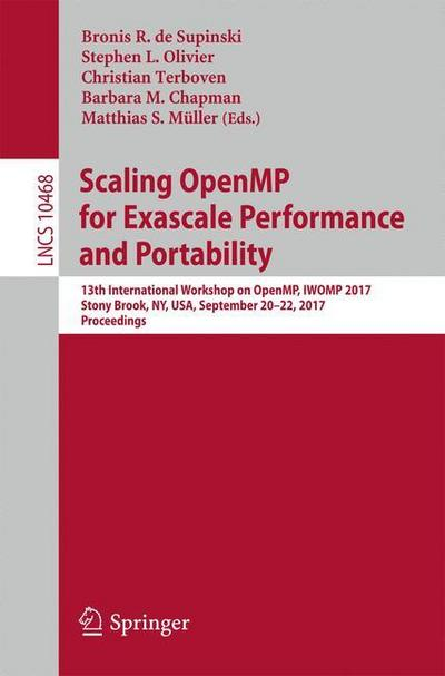 Scaling OpenMP for Exascale Performance and Portability
