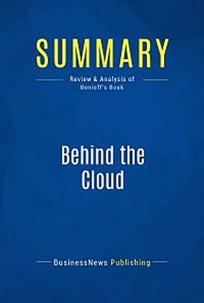 Summary: Behind the Cloud