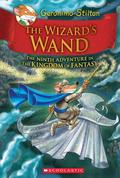 The Wizard's Wand (Geronimo Stilton and the Kingdom of Fantasy 09)