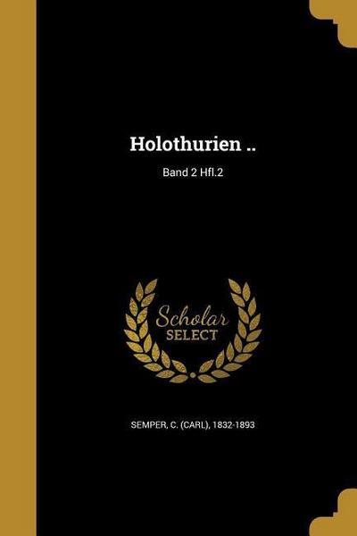GER-HOLOTHURIEN BAND 2 HFL2