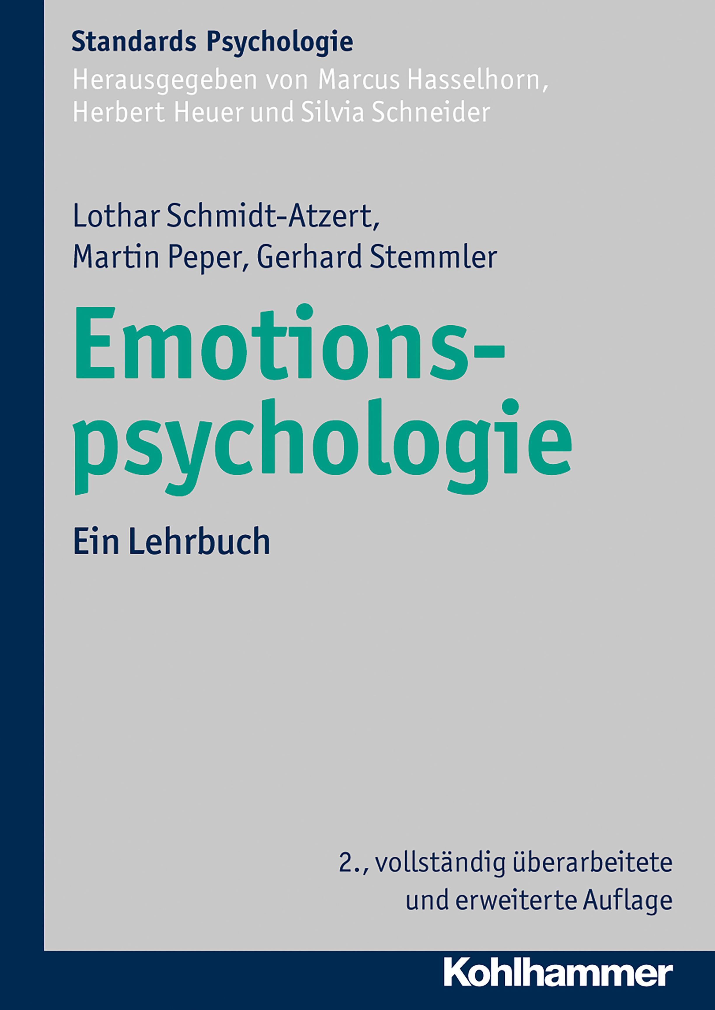 NEU Emotionspsychologie Gerhard Stemmler 205956