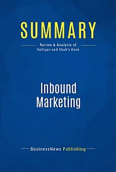 Summary: Inbound Marketing