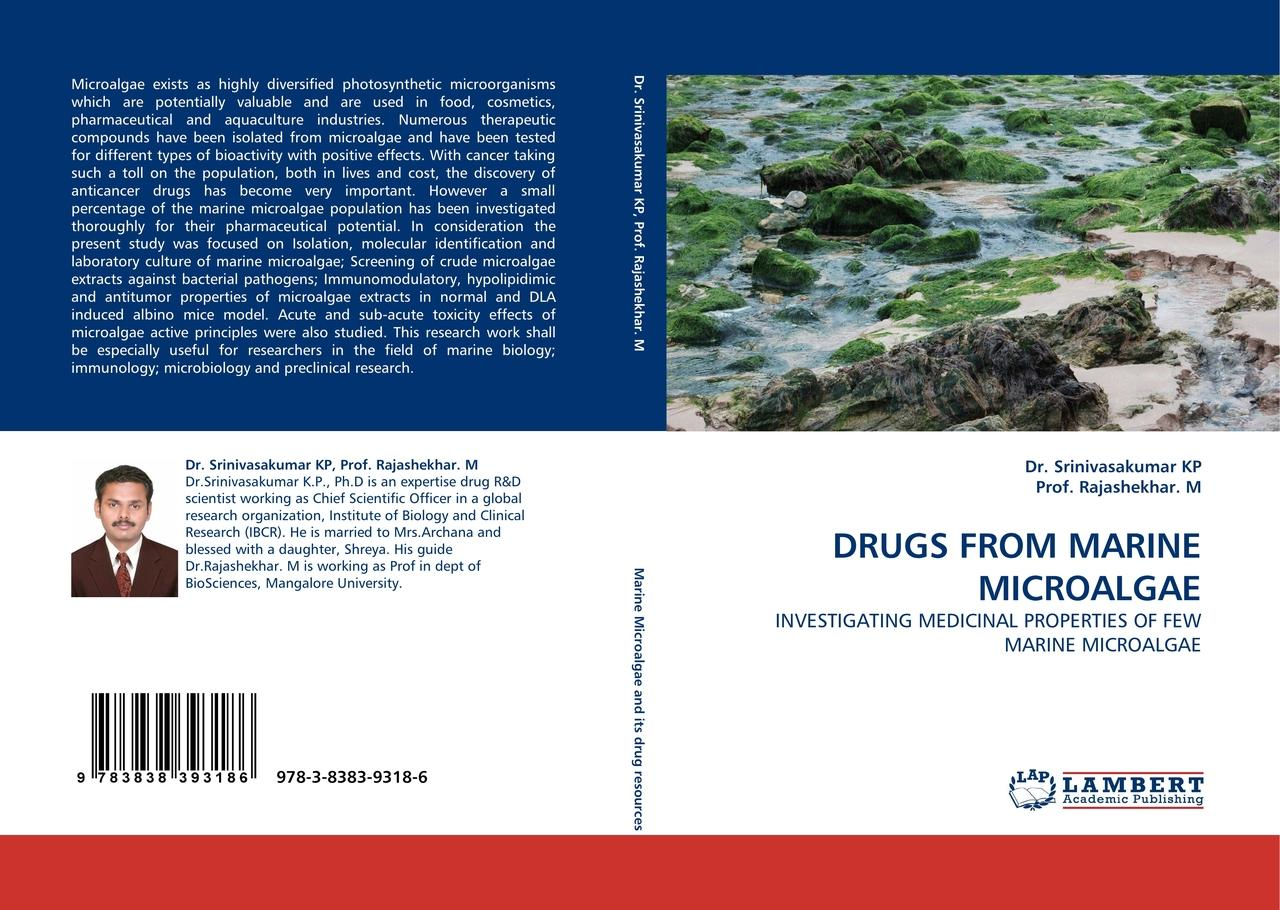 DRUGS FROM MARINE MICROALGAE - Dr. Srinivasakumar KP -  9783838393186