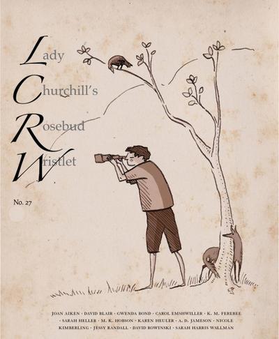 Lady Churchill's Rosebud Wristlet No. 27