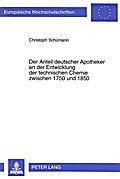 Der Anteil deutscher Apotheker an der Entwick ...
