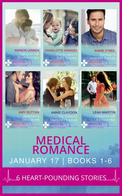Medical Romance January 2017 Books 1 -6 (Mills & Boon e-Book Collections)