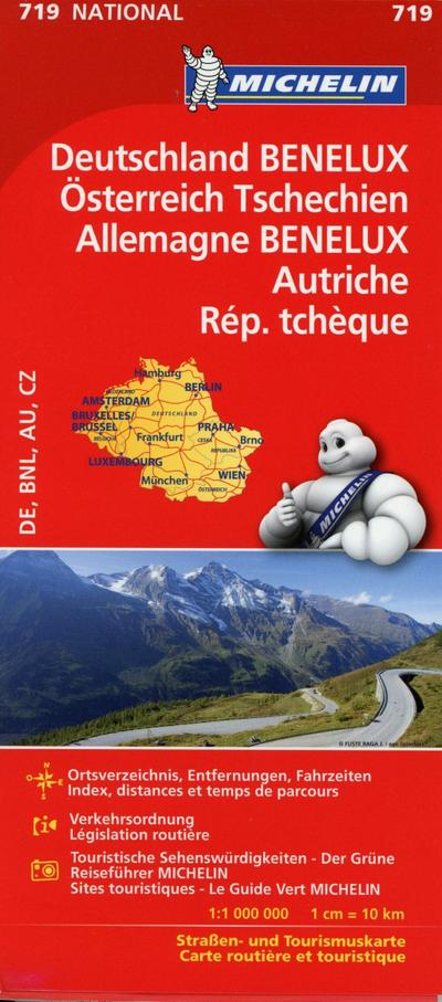 Mitteleuropa 1 : 1 000 000