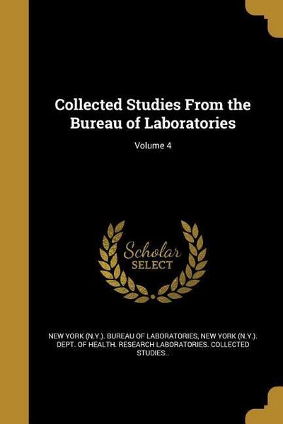COLL STUDIES FROM THE BUREAU O