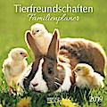 Tierfreundschaften Familientimer 2019. Broschürenkalender