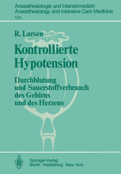 Kontrollierte Hypotension