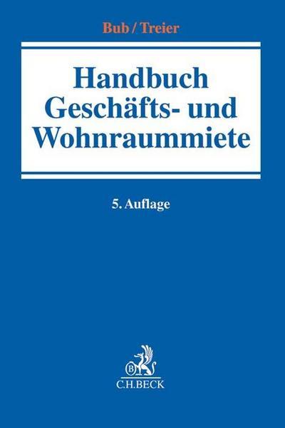 Handbuch Geschäfts- und Wohnraummiete