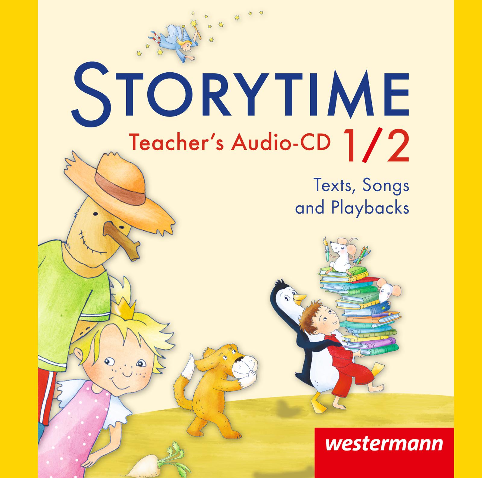 Storytime 1 / 2. Audio-CD,