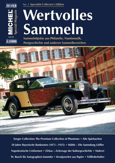 michel-magazin-wertvolles-sammeln-heft-2, 10.72 EUR @ rheinberg