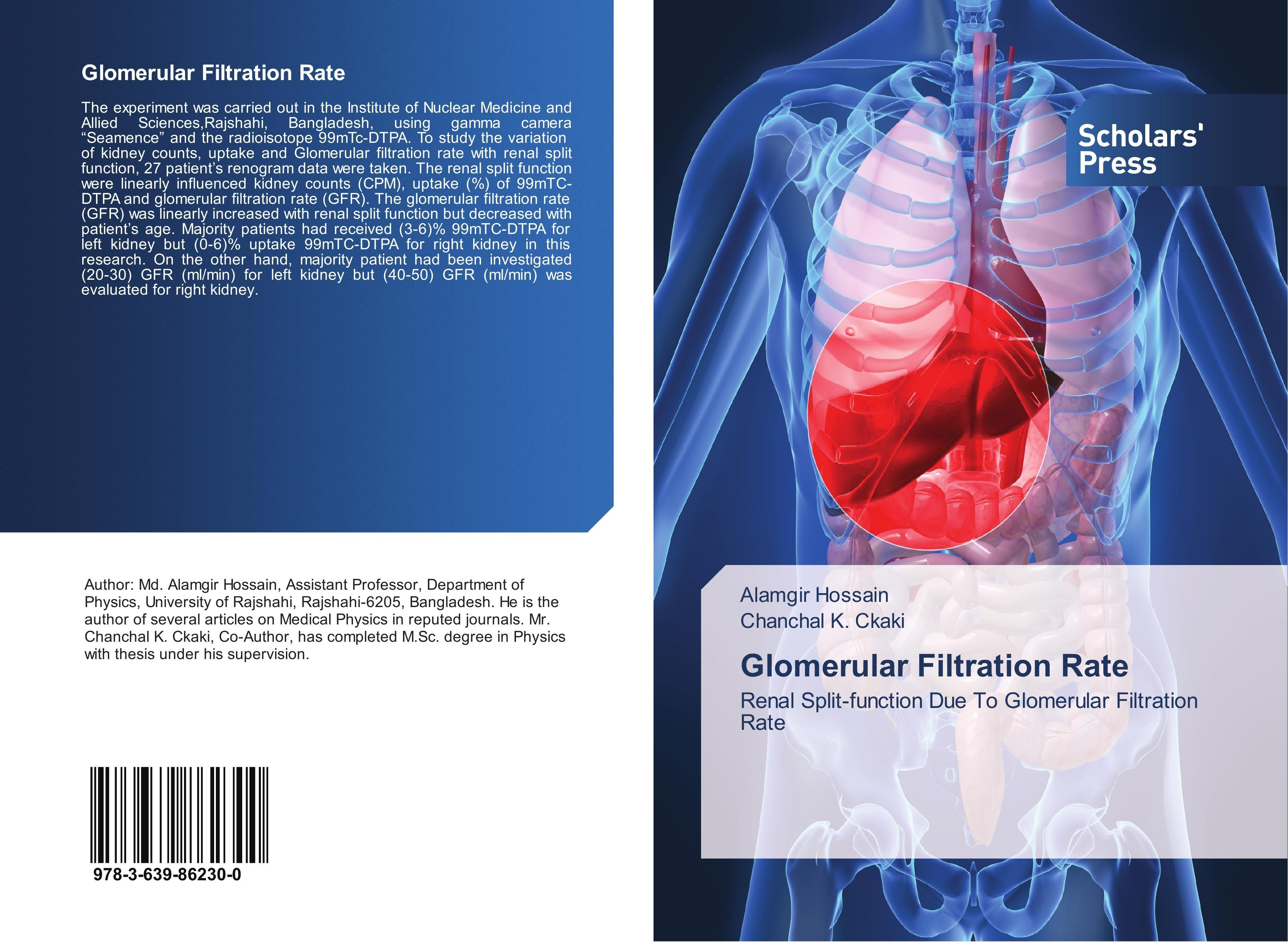 Glomerular Filtration Rate   Alamgir Hossain    9783639862300