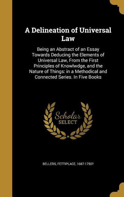 DELINEATION OF UNIVERSAL LAW