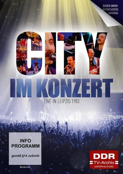Im Konzert: City 1983, 1 DVD