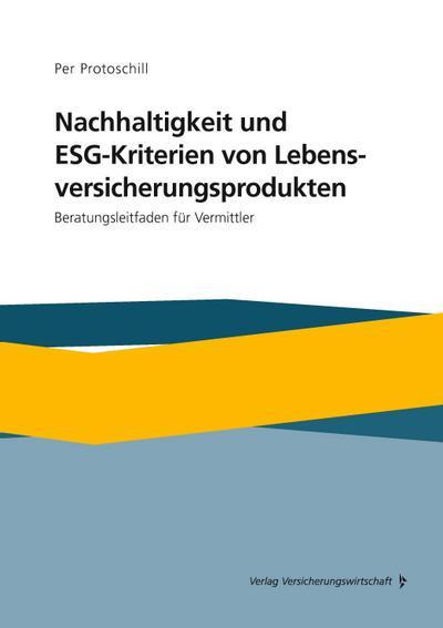 Nachhaltigkeit und ESG-Kriterien von Lebensversicherungsprodukten