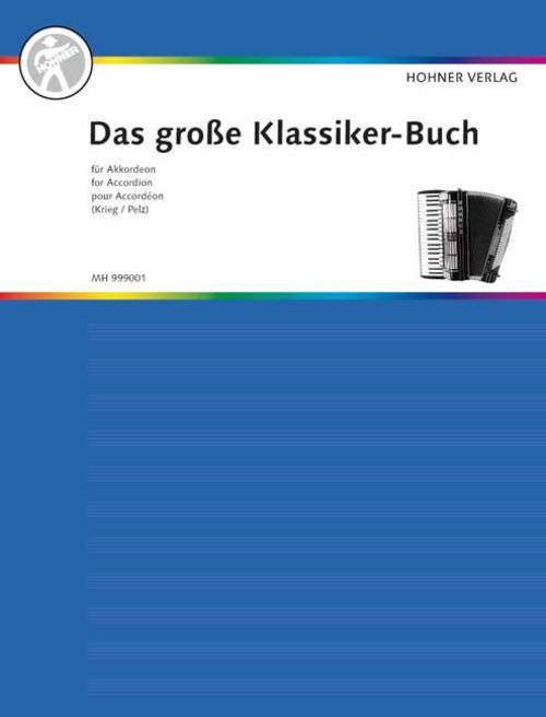 Das große Klassiker-Buch für Akkordeon