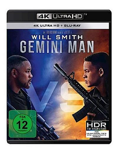 Gemini Man 4K, 2 UHD-Blu-ray