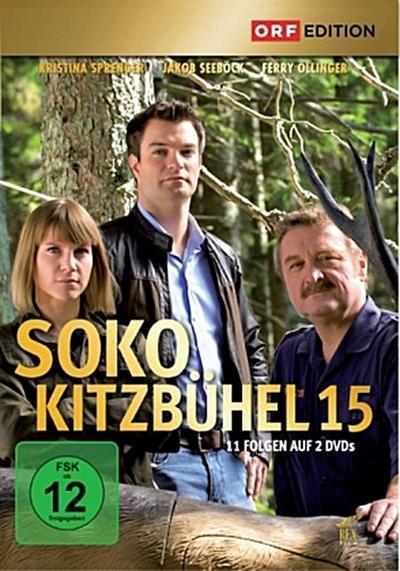 SOKO Kitzbühel. Staffel.15, 2 DVDs
