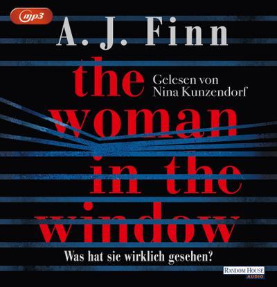 The Woman in the Window - Was hat sie wirklich gesehen?; Übers. v. Göhler, Christoph; Deutsch