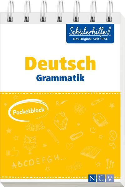 Pocketblock Deutsch Grammatik