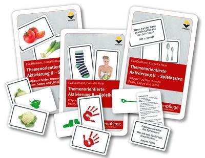 Themenorientierte Aktivierung II - Spielkarten - Vincentz Network - Spiel, Deutsch, Eva Diamant, Potpourri zu den Themen Paare, Suppe, Löffel, Potpourri zu den Themen Paare, Suppe, Löffel