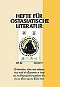 Hefte für ostasiatische Literatur Nr. 62