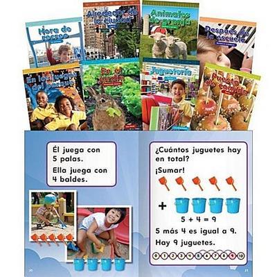 Mathematics Readers for Kindergarten Set 2 Spanish (Nctm)