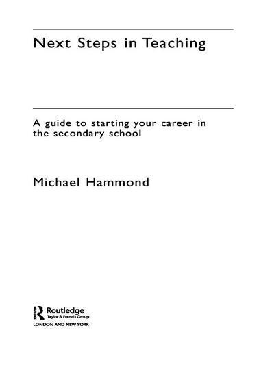 Next Steps in Teaching