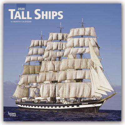 Tall Ships - Segelschiffe 2020 - 18-Monatskalender