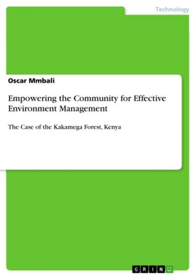 Empowering the Community for Effective Environment Management