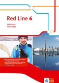 Red Line 6. Workbook mit Audio-CD Klasse 10
