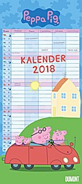 Peppa Pig Familienkalender 2018