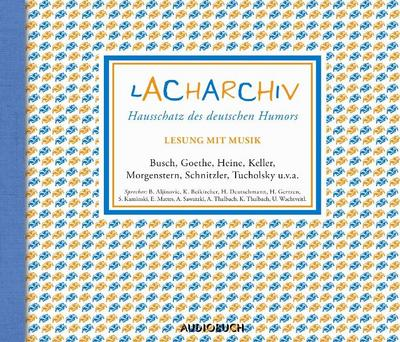 Lacharchiv, 4 Audio-CDs