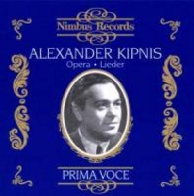 Kipnis In Opera And Songs