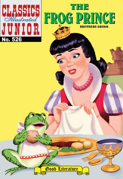 The Frog Prince (with panel zoom) - Classics Illustrated Junior