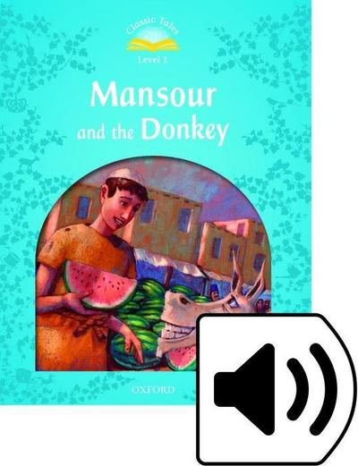 Mansour and the Donkey. e-Book & Audio Pack