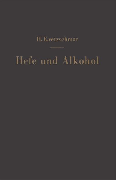 Hefe und Alkohol sowie andere Gärungsprodukte