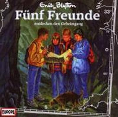 Fünf Freunde 033: ... entdecken den Geheimgang
