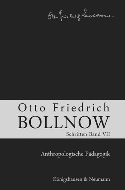 Schriften Anthropologische Pädagogik