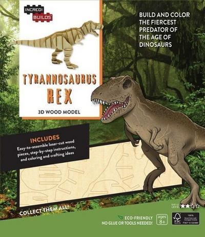 IncrediBuilds: Tyrannosaurus Rex 3D Wood Model