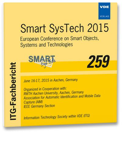 ITG-Fb 259: Smart SysTech 2015, 1 CD-ROM